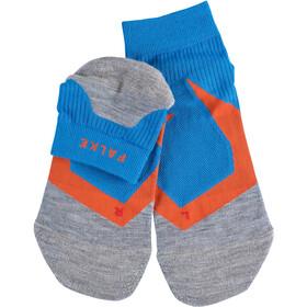 Falke RU 4 Cool Calcetines Cortos Hombre, azul/gris